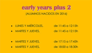 early years plus 2