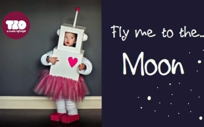 Fly me to the Moon, niños que están en la luna